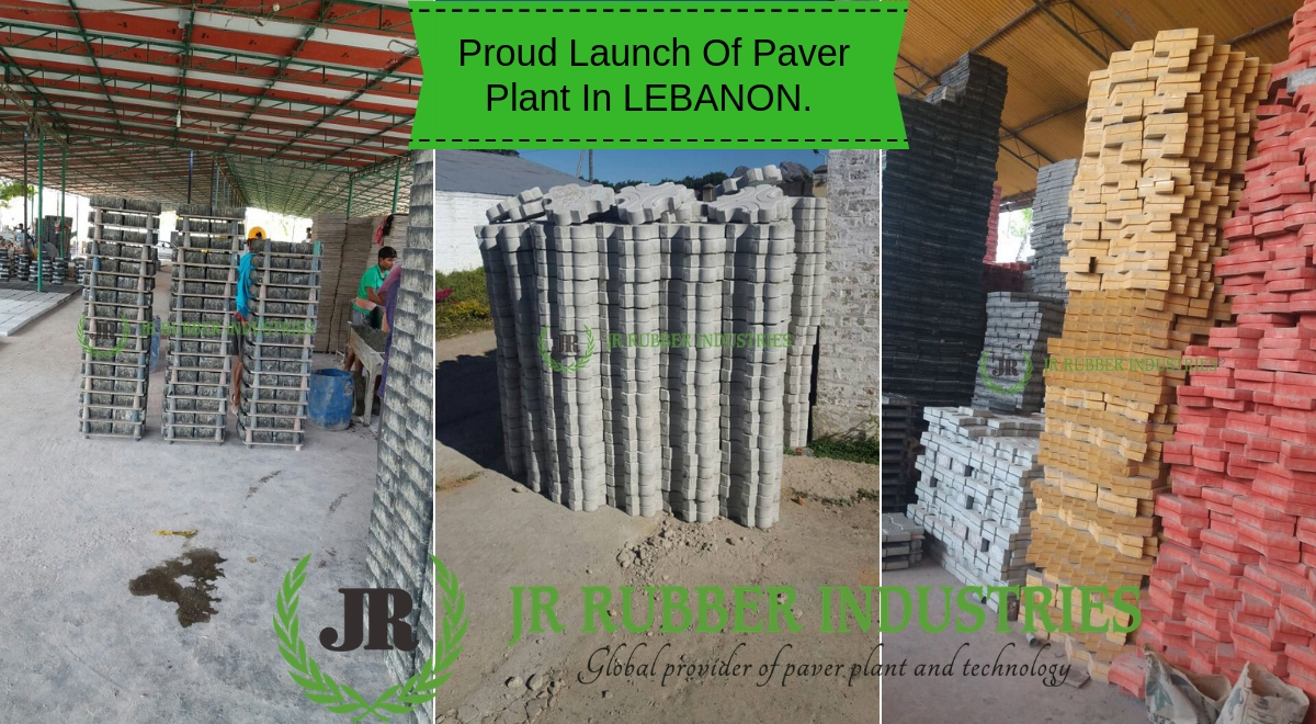 Proud Launch Of Paver Plant In LEBANON.